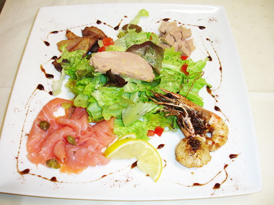 Méli Mélo de saveurs en salade